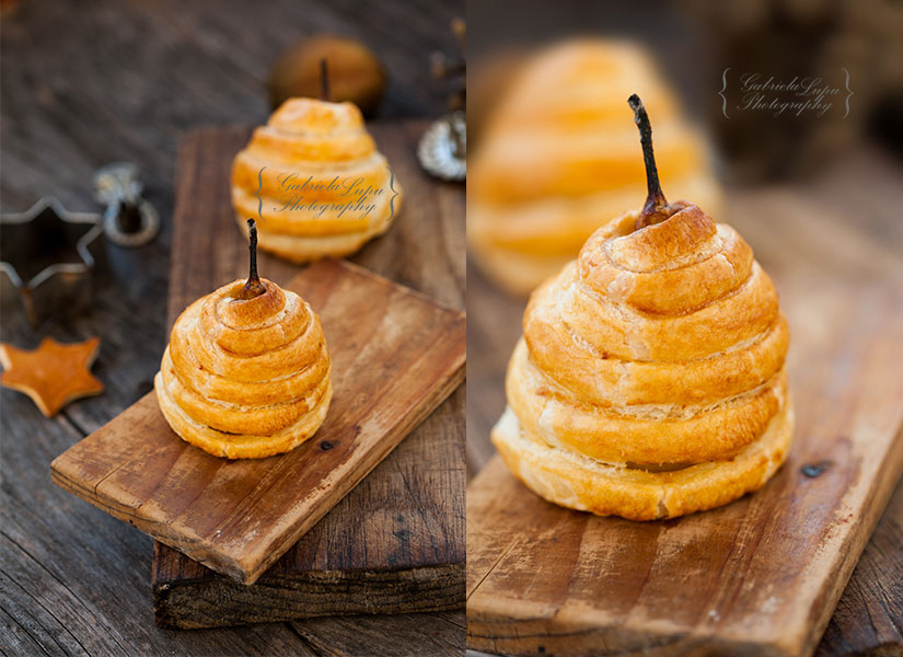pear baked in pastry
