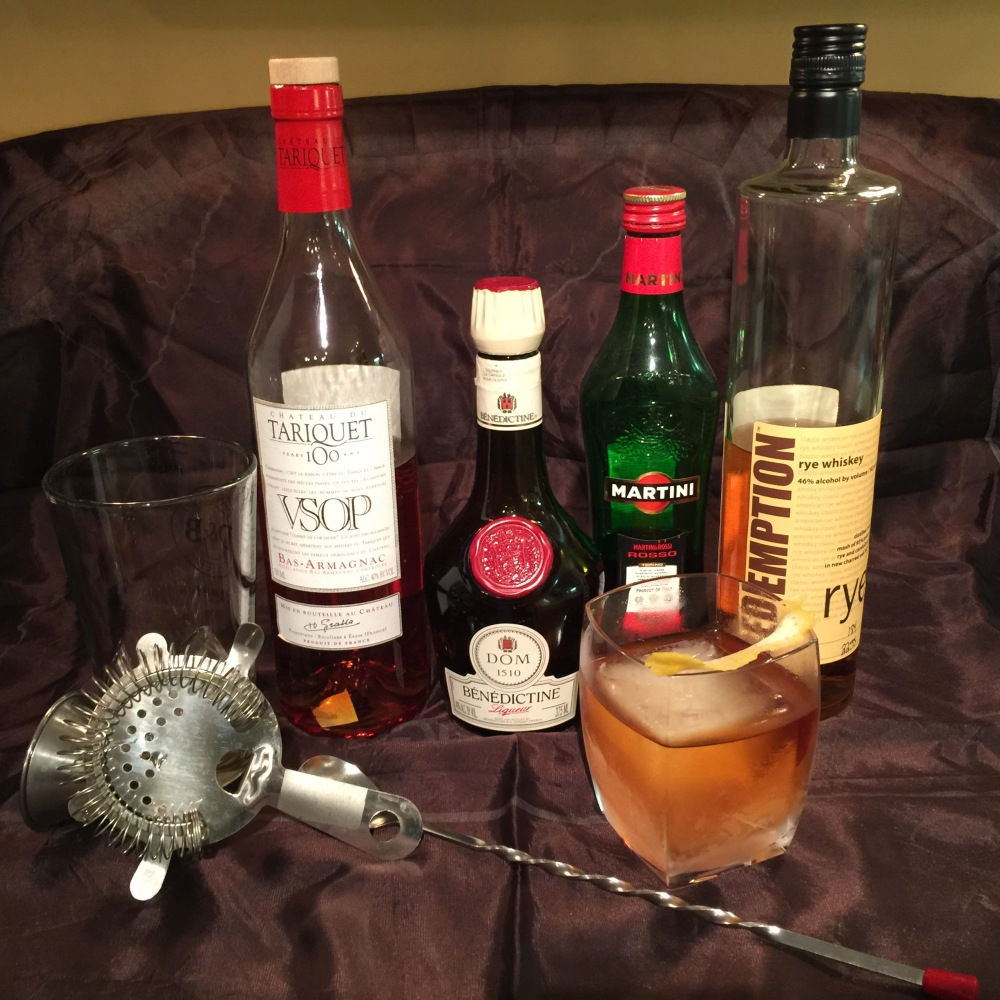Vieux Carre New Orleans classic cocktail